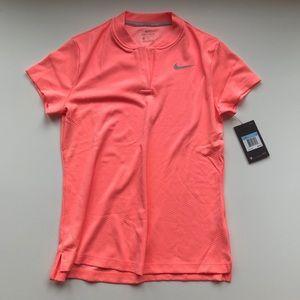 NWT Nike dry fit tennis/golf shirt